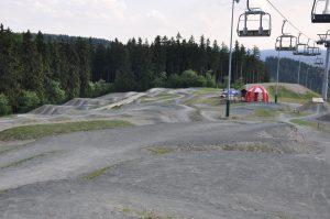 Radfahren Downhill